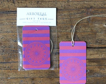 Purple and Red Gift Tags (original retail 6.50)