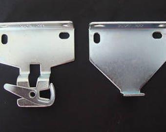 "Rollease Rb580 Roller Shade Bracket Set, Zinc / 2""projection"