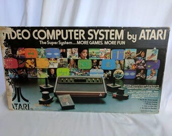 Atari 2600 - 40th Anniversary Collection - Heavy Sixer CIB with 50 in Box Games and 10 Controllers