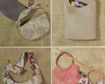 Butterick Pattern 3873 Fashion Handbags in Six Styles