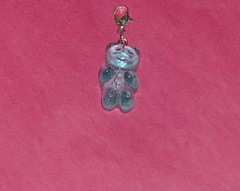 """1 """"Pooh TURQUOISE"""" 25mm resin Charms"""
