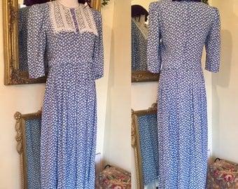 Midi Tea Dress 1920's Belle France