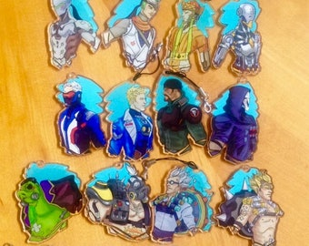 Overwatch fanart pick a ship charms