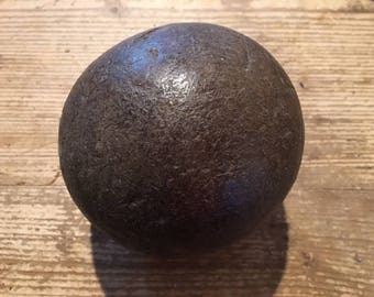 Antique Wood Bowling Ball