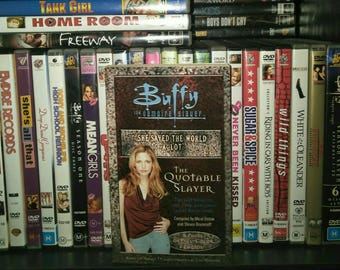 BUFFY: The Vampire Slayer book