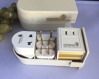 K014 Franzus outlet converter beige plastic
