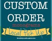 Custom Order | For Local ...