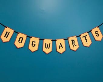 Harry Potter Inspired Party Banner