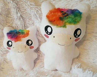 Cuddly Soft Unicorn, Unicorn Soft Toy, Handmade Unicorn, Teddy Bear, Toy Unicorn, Unicorn Plushie, Soft Toy