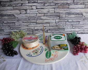 Vintage French cheese plater