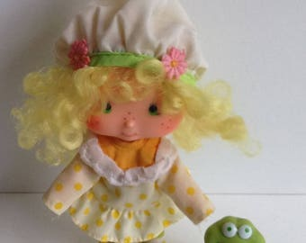 LEMON MERINGUE w/ Frappe Vintage Strawberry Shortcake Doll