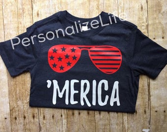 Fourth of July shirt, Merica shirt, patriotic shirt, independent day.