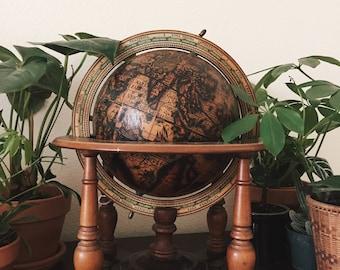 SALE Mercurio D'oro Terrestrial Globe Coronelli Made In Italy Zodiac