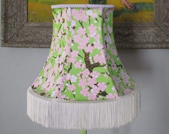 Japanese Paper Lamp with Fringe