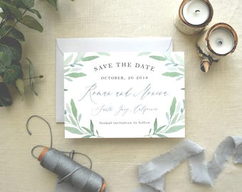 Save the Date - Mediterranean Love
