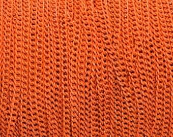 Chain 3x2mm color orange