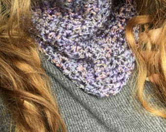 Snuggly crochet snood/cowl