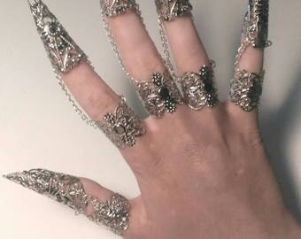 x 5 reinforcement for your fingers, claws