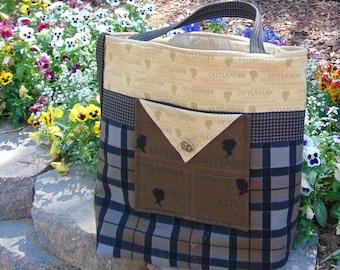 Droughtlander Inspired Handmade Quilted Bag