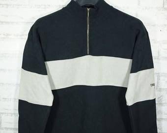 Vintage Trussardi Junior Colorblock Sweater Sweatshirt Size Small S / trussardi Shirt / Trussardi t shirt