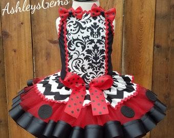 Ladybug Birthday Outfit, Ladybug Tutu, Ladybug First Birthday Outfit, Lady Bug 1st Birthday Outfit, Lady Bug Costume, Ladybug Dress