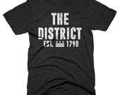 SALE - The Bold District Tee  - Medium