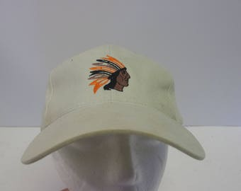 90s Native American hat cap low profile dad chief