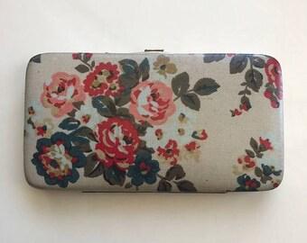 SUMMER  CLEARANCE SALE Vintage Floral Wallet