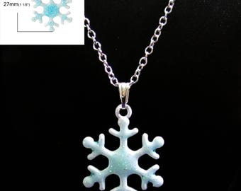 Beautiful Snowflake Necklace
