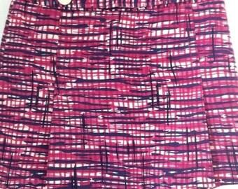 Vintage  Lilly Pulitzer Print A-Line Mini Skirt