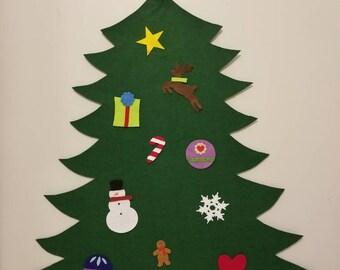Classic Felt Christmas Tree