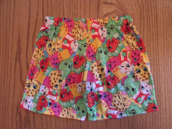 Shopkins sleep shorts,mommy and me sleep shorts,Shopkins mommy and me,knit sleep shorts,womens sleep shorts, womens Shopkins,girls shopkins