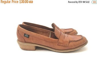 40% OFF Vintage Leather Loafers- Size 6.5