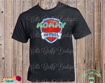 Mommy Patrol Paw Patrol T-shirt