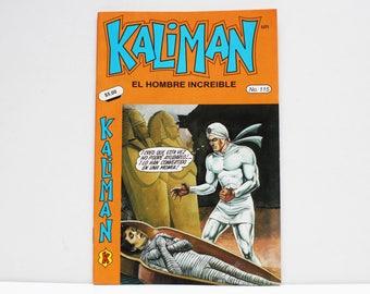 Kaliman El Hombre Increible No 115 El Faraon Sagrado Revista en Español Comic Book in Spanish RARE