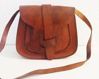 Boho Leather Purse.