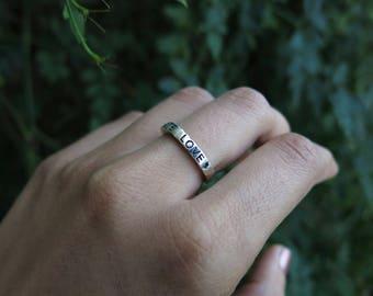 Radiate Love- Stacker Ring