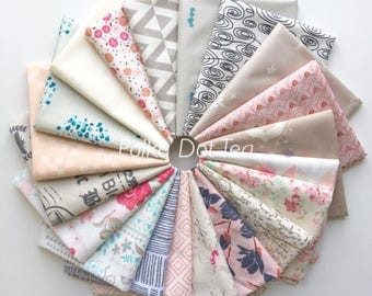 Fat Quarter Bundle of 20 Art Gallery Fabrics Curated by Polka Dot Tea