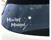Mischief Managed Harry Potter - White Choose your size