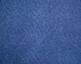 Iron on flock sheet imitation blue jean
