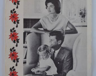 JFK Family 1959 Christmas Card (front only)
