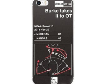 Michigan Basketball iPhone Case: Burke takes it to OT (2013)