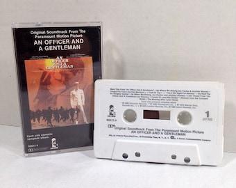 An Officer And A Gentleman Soundtrack cassette tape 1980 - ZZ Top, Joe Cocker, Pat Benatar, Van Morrison