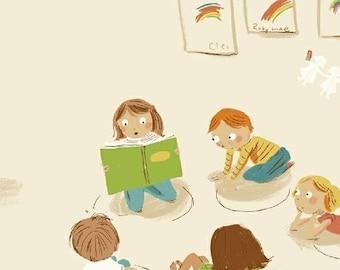 Kinder - Kindergarten White - Heather Ross - Windham (43480-3)
