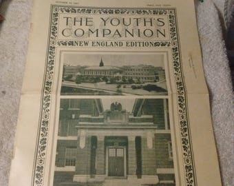 The Youth's Companion New England Edition  October 10 1907, April 3 1913, September 22 1910, October 18 1906