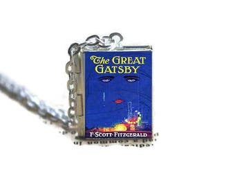 The Great Gatsby Book Locket Necklace