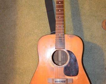 Vintage Martin Guitar 1958