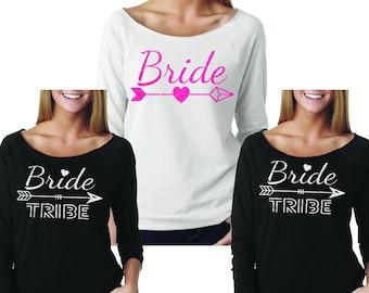 BRIDE SET Wideneck Fleece