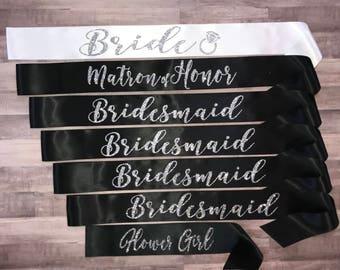 CUSTOM SET Bride Black and White