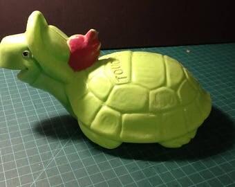 Touche' Turtle Hanna Barbera Purex Soaky figure Vintage